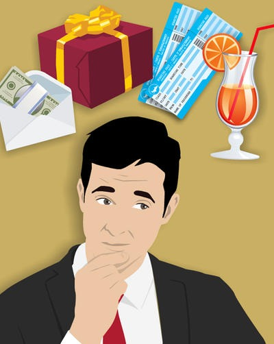 Pharma FCPA Rewards: Trips, Entertainment, Gifts, and Personal Services